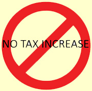no tax increase