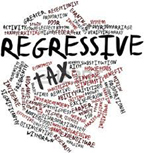 regressive tax